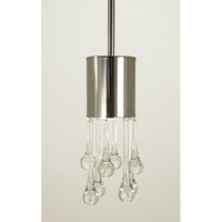 HA Framburg Architectural 1 Light Pendant in Polished Nickel 2900PN