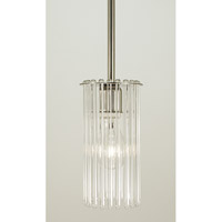 HA Framburg Architectural 1 Light Pendant in Polished Nickel 2902PN