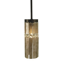 HA Framburg Architectural 1 Light Pendant in Mahogany Bronze 2905MB