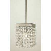 HA Framburg Architectrual Pendants 1 Light Pendant in Polished Silver 2906