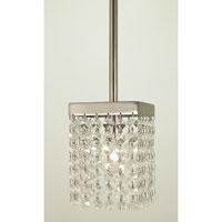 HA Framburg Architectrual Pendants 1 Light Pendant in Polished Silver 2906