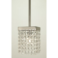 HA Framburg Architectural 1 Light Pendant in Polished Nickel 2906PN