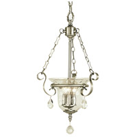 Carcassonne 3 Light 13 inch Brushed Nickel Pendant Ceiling Light