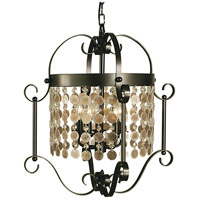HA Framburg Naomi 5 Light Dining Chandelier in Mahogany Bronze 2924MB