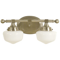 HA Framburg Taylor 2 Light Bath and Sconce in Brushed Nickel 2938BN