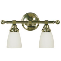 HA Framburg Taylor 2 Light Bath and Sconce in Polished Nickel 2942PN