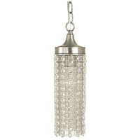 Penelope 1 Light 4 inch Brushed Nickel Pendant Ceiling Light