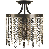 Framburg 2953MB Penelope 1 Light 12 inch Mahogany Bronze Semi-Flush Mount Ceiling Light