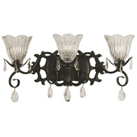 HA Framburg Liebestraum 3 Light Bath and Sconce in Mahogany Bronze 2963MB