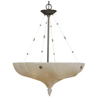 Giselle 4 Light 25 inch Mahogany Bronze Dining Chandelier Ceiling Light