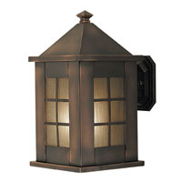 HA Framburg Citadel 1 Light Exterior in Roman Bronze 4174RB
