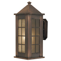 HA Framburg Citadel 1 Light Exterior in Roman Bronze 4175RB