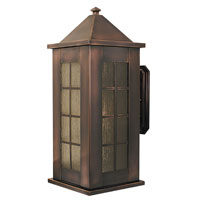 HA Framburg Citadel 1 Light Exterior in Roman Bronze 4176RB