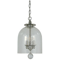 HA Framburg Hannover 3 Light Mini Chandelier in Polished Nickel 4353PN