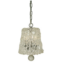 Brocatto 3 Light 8 inch Polished Nickel Pendant Ceiling Light