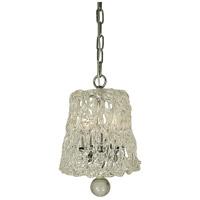 HA Framburg Brocatto 3 Light Pendant in Polished Nickel 4359PN