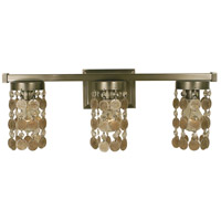 HA Framburg Naomi 3 Light Bath Light in Brushed Nickel 4363BN