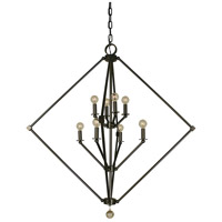 Diamond 8 Light 40 inch Mahogany Bronze Chandelier Ceiling Light