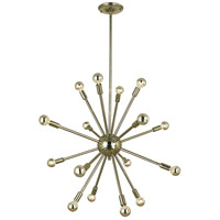 Simone 16 Light 30 inch Polished Nickel Chandelier Ceiling Light