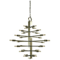 Simone 28 Light 32 inch Polished Nickel Foyer Chandelier Ceiling Light
