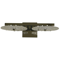 Celeste 2 Light 17 inch Polished Nickel Wall Sconce Wall Light