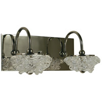Celeste 2 Light 13 inch Polished Nickel Wall Sconce Wall Light