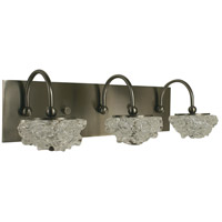 Celeste 3 Light 21 inch Brushed Nickel Wall Sconce Wall Light