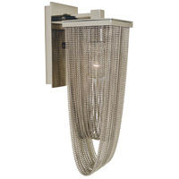 HA Framburg Genesis 1 Light Sconce in Polished Nickel 4631PN