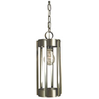 Framburg 4661SP/PN Pantheon 1 Light 5 inch Satin Pewter with Polished Nickel Pendant Ceiling Light in Satin Pewter/Polished Nickel