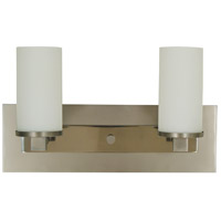 Mercer 2 Light 15 inch Satin Pewter with Polished Nickel Sconce Wall Light