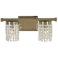 Gemini 2 Light 15 inch Polished Nickel Sconce Wall Light