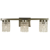 Gemini 3 Light 22 inch Brushed Nickel Sconce Wall Light