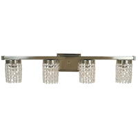 Gemini 4 Light 31 inch Polished Nickel Sconce Wall Light