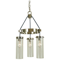 Hammersmith 3 Light 14 inch Polished Nickel Mini Chandelier Ceiling Light