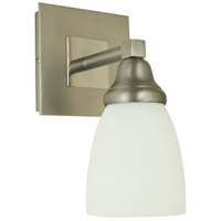 Mercer 1 Light 5 inch Satin Pewter with Polished Nickel Sconce Wall Light