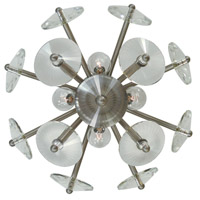 Framburg 4811-BN Apogee 4 Light 17 inch Brushed Nickel Bath Sconce Wall Light