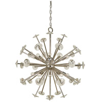 Apogee 20 Light 36 inch Polished Nickel Foyer Chandelier Ceiling Light