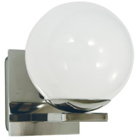 Blue Moon 1 Light 8 inch Polished Nickel Bath Sconce Wall Light