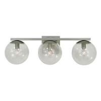 Framburg 4833PB Jupiter 3 Light 22 inch Polished Brass Bath Sconce Wall Light