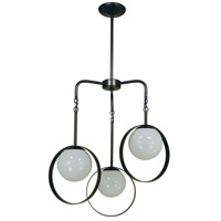 Orabelle 3 Light 24 inch Mahogany Bronze Pendant Ceiling Light