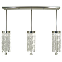 Gemini LED 36 inch Polished Nickel Island Chandelier Ceiling Light