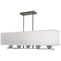 Framburg 4995PN Glamour 5 Light 40 inch Polished Nickel Chandelier Ceiling Light