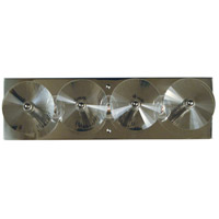Patrice 3 Light 17 inch Polished Nickel Bath Vanity Wall Light