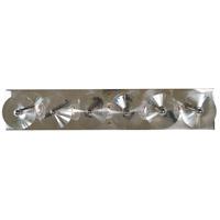 Framburg 5009PN Patrice 5 Light 25 inch Polished Nickel Sconce Wall Light