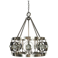Ephemeris 5 Light 22 inch Polished Nickel Chandelier Ceiling Light