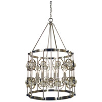 Ephemeris 8 Light 28 inch Polished Nickel Foyer Chandelier Ceiling Light