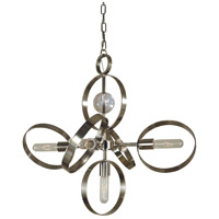Copernicus 5 Light 26 inch Polished Nickel Chandelier Ceiling Light