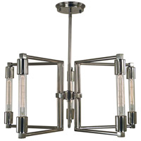 Framburg 5115PN Focal 5 Light 24 inch Polished Nickel Dining Chandelier Ceiling Light