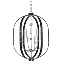 Matte Nickel Urban Chandeliers