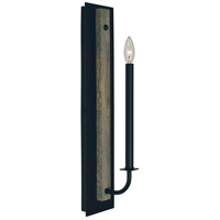 Framburg 5411MBLACK Loft 1 Light 5 inch Matte Black Sconce Wall Light